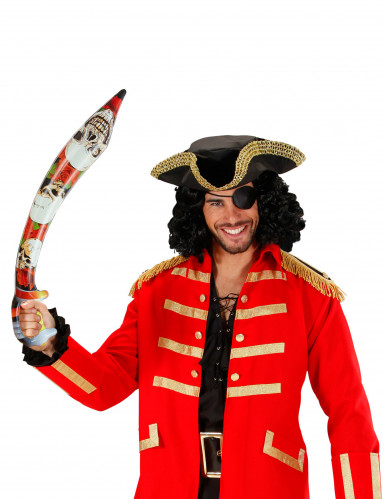 Epée gonflable pirate 75 cm-1