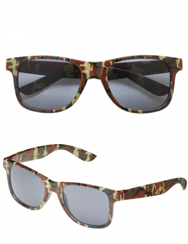Lunettes camouflage adulte-2
