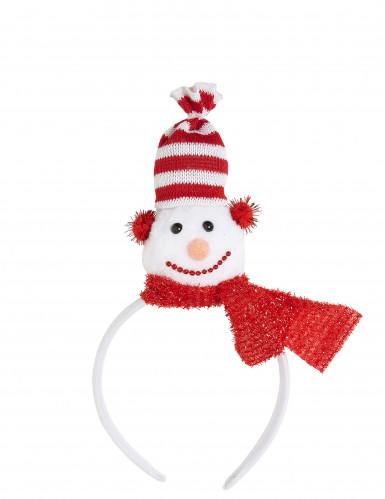 Chapeau bonhomme de neige adulte Noël-2