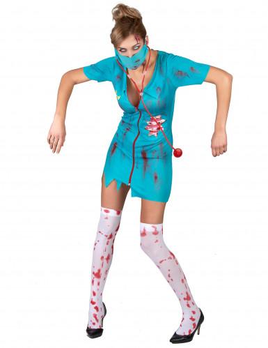 Déguisement infirmière zombie femme