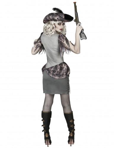 Déguisement pirate fantôme grise femme-2