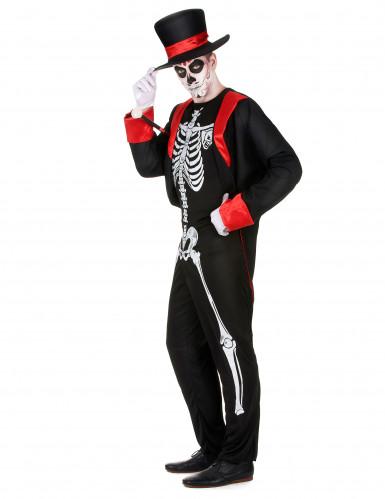 Déguisement squelette chic homme-1