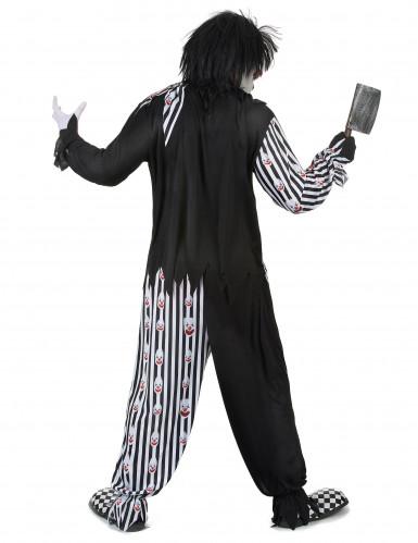 Déguisement clown psychopathe homme-2