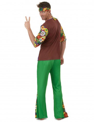 Déguisement Hippie flower power homme-2