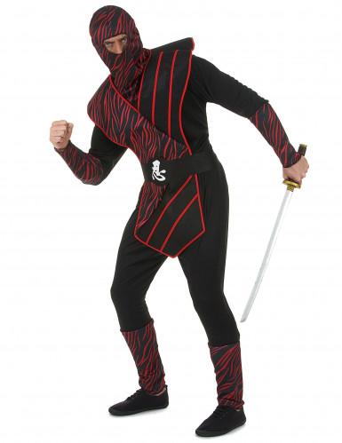 Déguisement ninja fauve homme-1