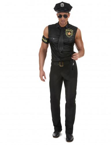 Déguisement policier sexy homme-1