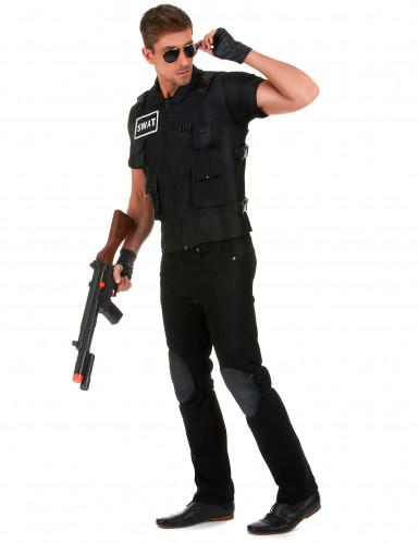 Déguisement agent du SWAT homme-1