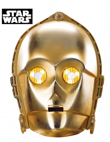 Masque carton C3-PO - Star Wars™