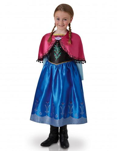 Déguisement luxe Anna Reine des Neiges™ enfant