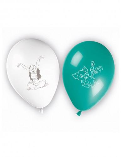 8 Ballon imprimés Vaiana™