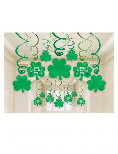 30 Décorations spirales St Patrick