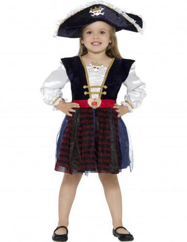 Déguisement pirate brillante fille