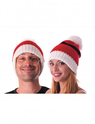 Bonnet en laine Noël