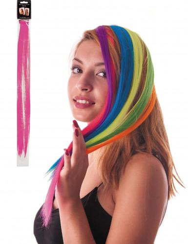 Mèche rose à clipser pour cheveux