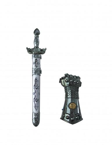 Epée et gant chevalier