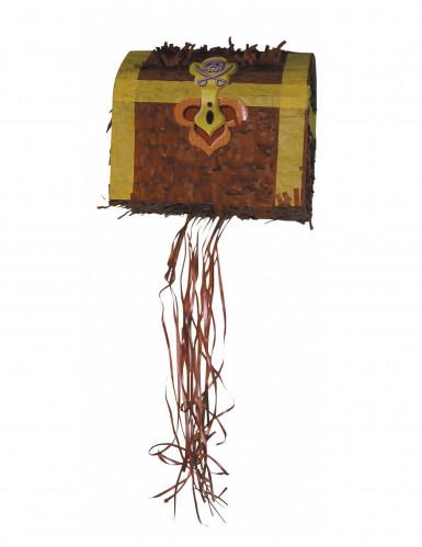 Piñata coffre de pirate 27 x 22 x 30 cm
