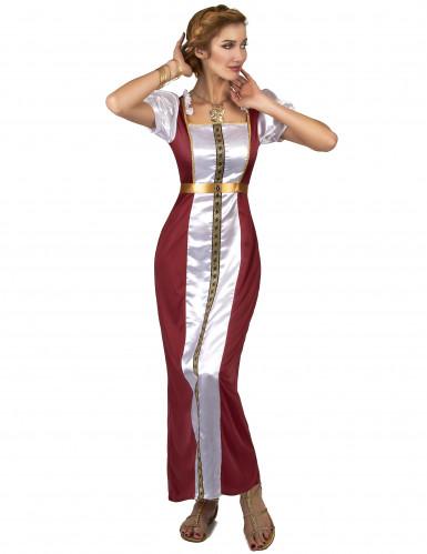 Déguisement Reine Guenièvre médiévale femme