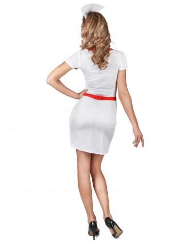 Déguisement infirmière blanche sexy femme-2