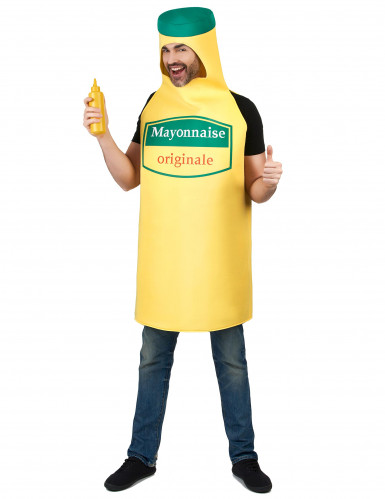 Déguisement mayonnaise adulte-1