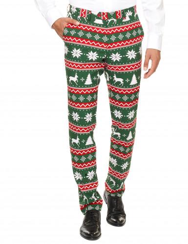 Costume Mr. Festive vert homme Opposuits™-1