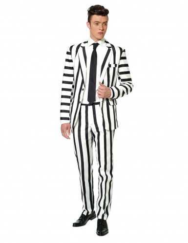 Costume Mr. Striped noir et blanc homme Suitmeister™