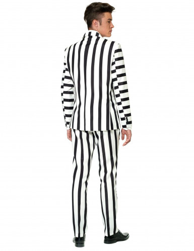 Costume Mr. Striped noir et blanc homme Suitmeister™-1