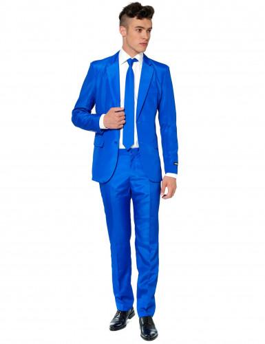 Costume Mr. Solid bleu homme Suitmeister™