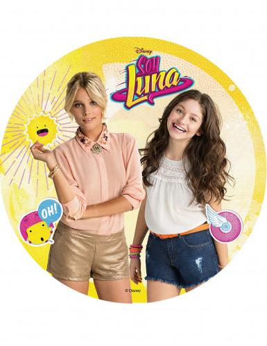 Disque en azyme Soy Luna™ modèle aléatoire 20 cm-2
