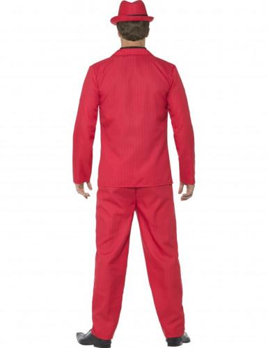 Déguisement gangster rouge homme-2