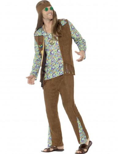 Déguisement hippie années 60 homme-1
