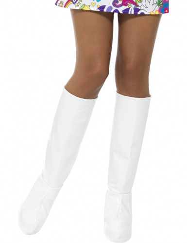 Couvre-bottes blanches femme