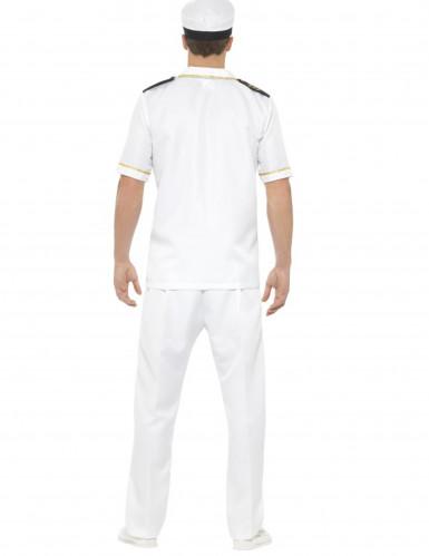 Déguisement capitaine blanc homme-2