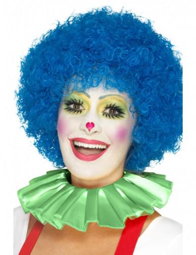 Collerette clown verte adulte