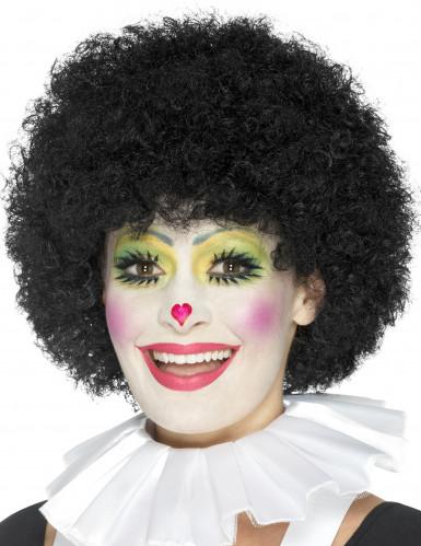 Collerette clown blanche adulte