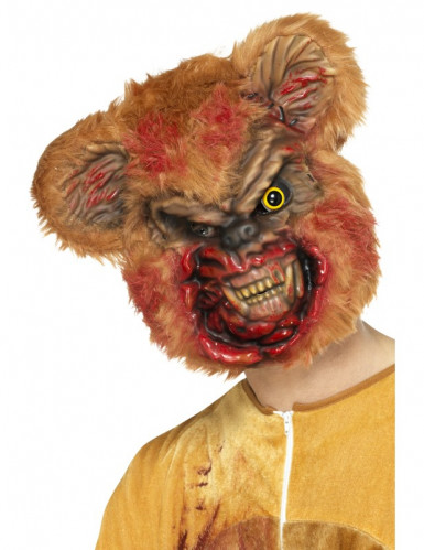 Masque nounours zombie adulte Halloween