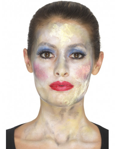 Kit maquillage princesse zombie femme Halloween-1