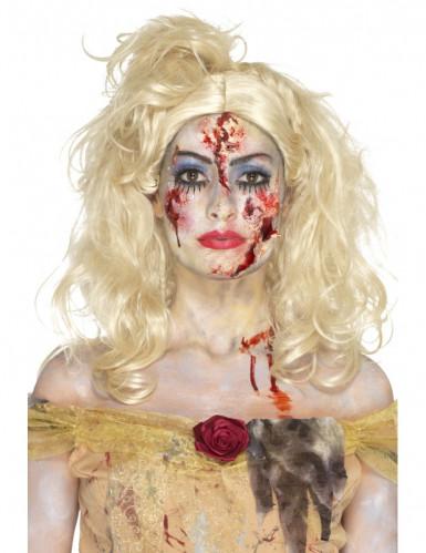 Kit maquillage princesse zombie femme Halloween-3