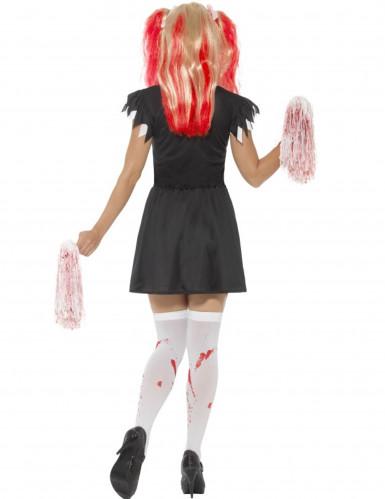 Déguisement pompom girl satanique femme Halloween-1