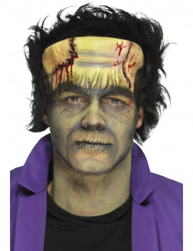 Prothèse en mousse latex monstre vert adulte Halloween