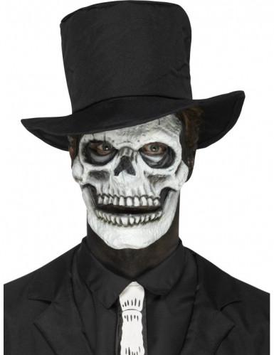Prothèse en mousse latex squelette adulte Halloween