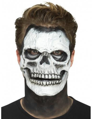 Prothèse en mousse latex squelette adulte Halloween-2