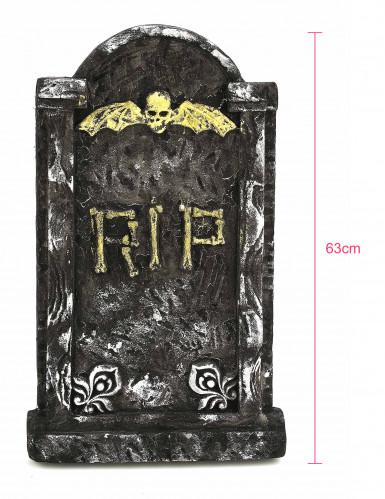 Décoration pierre tombale Halloween 63 x 35 cm-3