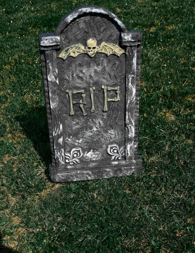 Décoration pierre tombale Halloween 63 x 35 cm-2