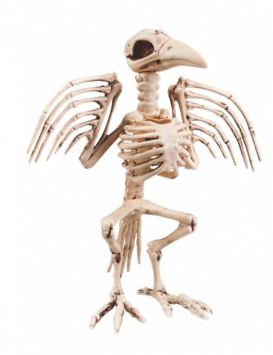 Décoraton squelette de corbeau 32 cm Halloween