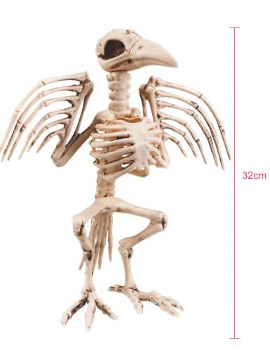 Décoraton squelette de corbeau 32 cm Halloween-1
