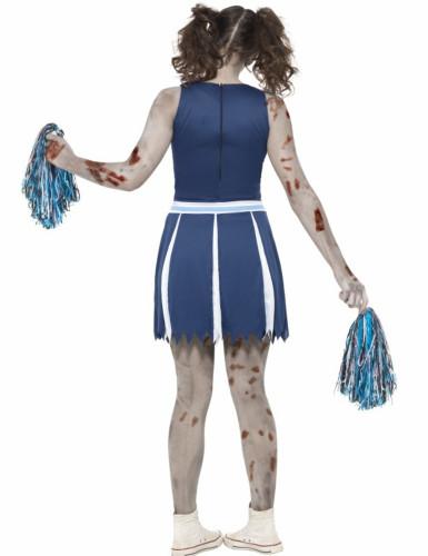 Déguisement pompom girl zombie adolescent Halloween-1