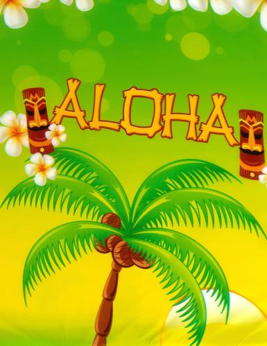 Nappe en plastique Aloha 270 X 135 cm-1