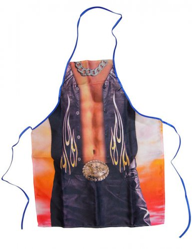 Tablier cow-boy sexy homme