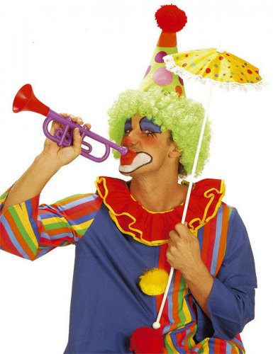 Trompette clown 30 cm