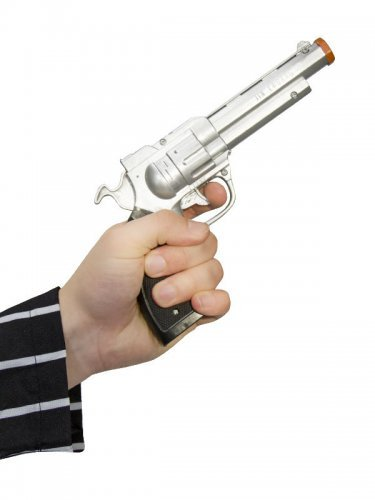 Pistolet gangster 18 cm